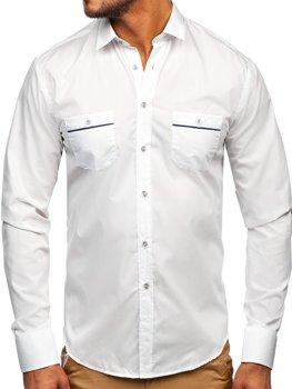 Koszula męska BOLF 5792 biała