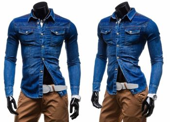 REPUBLIC DENIM 4022 - CIEMNY JEANS