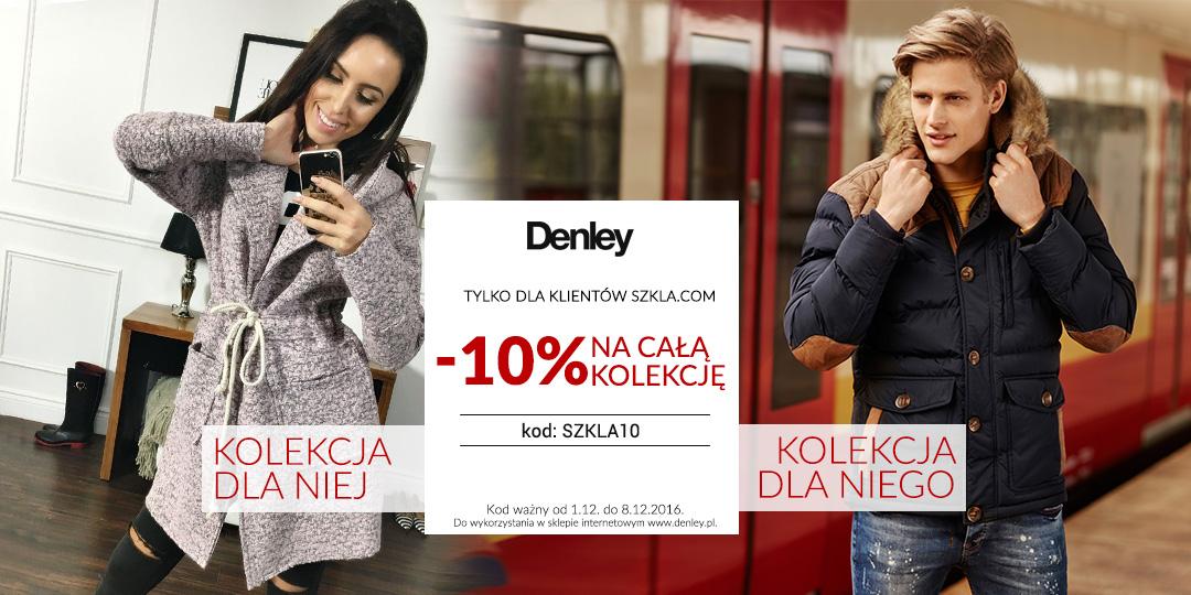 Rabat 10% - DENLEY.PL